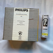 More details for philips lfh 555 transcription machine with lfh 0176 microphone | complete boxed