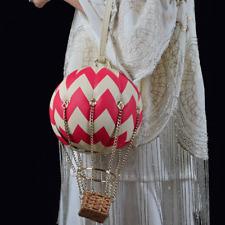 personality Reall leather handmade Hot air balloon bridal handBag shoulder bag