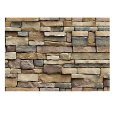 10Rolls 3D Pattern Brick Stone Self Adhesive PVC Wall Sticker Panel Wallpaper AU