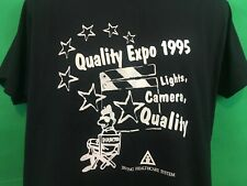 Vintage 1995 Quality Expo Lights, Camera, Quality Shirt Size Large