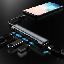 New USB Type C Hub 4K HDMI 5 in 1 Hub Adapter Cable PD Charge Splitter