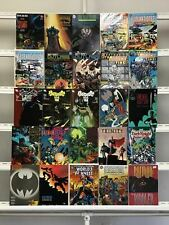 Batman Graphic Novels  Dc 25 Lot Comic Book Comics Set Run Collection Box