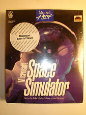 RARE SEALED VINTAGE MS-DS 1994 Microsoft Space Simulator.