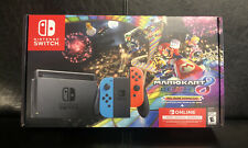 Nintendo Switch Mario Kart 8 Deluxe Bundle With Blue Red Joy Cons Brand New 2020