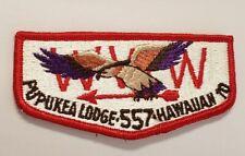 OA Pupukea Lodge 557 Hawaiian Lodge Flap Series F5--RARE