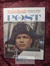 Saturday Evening POST June 16 1962 MARLON BRANDO MUTINY BOUNTY