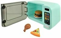 Childrens My First Kitchen Microwave Oven Realistic Role Play Lights & Sounds