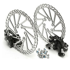160MM MTB Bike Mechanical Disc Brake Front and Rear Brake WIth G2 Rotors Set