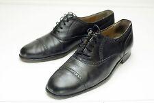 Bally 8 Black Oxford Dress Shoes