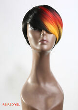 New Fashion Wig Bob Pixie Tousled Black Brown Blonde Regular Wear Party Cosplay