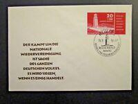 Germany DDR SC# B43 FDC / Unaddressed / Cacheted - Z4590