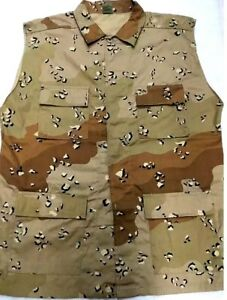 Vest Men Sleeveless Shirt 4 Pockets Lightweight PolyCotton sizes M,L,3X,4X
