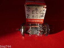 ECC808 TELEFUNKEN <> NEW OLD STOCK  VALVE TUBE  J15
