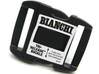 """Bianchi 90063 Black Tri-Release Replacement Buckle For 2"""" Duty Belts"""