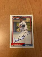 2020 Topps Archives - Mark Wohlers - Fan Favorites On Card Auto BRAVES