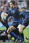 rugby autograph MORGAN PARRA feuille 20X30 cm signed FRANCE CLERMONT