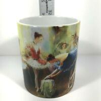 Saint Petersburg Coffee Mug Souvenir Girls Prepare For Dancing Colorful Tea Cup
