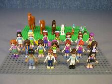 Lego Friends 18x  Figuren Minifiguren Sammlung Konvolut + Pferde und Tiere