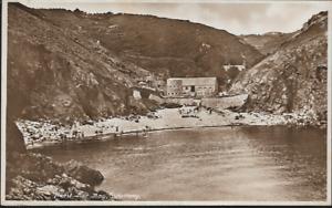 Petit Bot Bay, Guernsey - local postcard (Guernsey Press) & pmk 1934