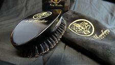 King Monkey Products Model#1776 -  Natural Boar Bristle Unisex Hair/Beard Brush