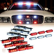 Fire Fighter Lights Federal Signal LED Emergency Vehicle Headlight Strobe Light