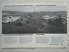 4/1974 PUB SIKORSKY HELICOPTER YUH-60A H-53 CH-53E FLYING CRANE UTTAS AD