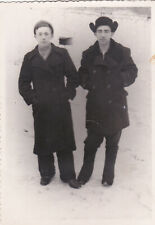 1950s Handsome young men guys friends couple winter Russian Soviet photo gay int