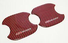 Mugen Door Handle Protector Size Small For FD1, FD2, FD3, FK7, FK8 Civic, GK Fit