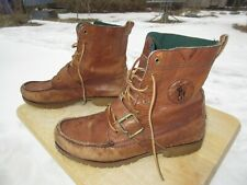 Polo Ralph Lauren Ranger Boots / Us Men 11 D / Brown Leather Uppers / Pre-owned