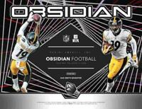 2019 Panini Obsidian Football Hobby Box (1 Pack/7 Cards: 4 Autos or Mems)