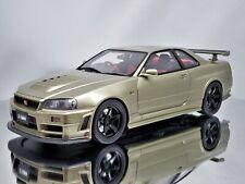 Otto Mobile / Kyosho Nissan Skyline GT-R R34 Nismo Z-Tune Millennium Jade 1:18