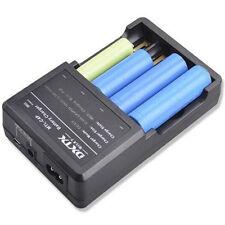 NEU inteligente multi Cargador De Batería para 4x 18650, 2x 18550 3.7V
