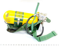 Vintage Mine Safety Appliances Oxygen Tank Mount Pittsburgh Msa Valve Air Mask