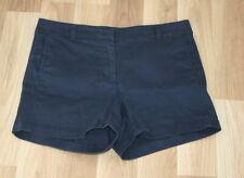 J. Crew Damen Shorts Baumwolle navy blue Gr. 8 D38/40