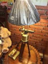 Retro Upcycled Blow Lamp/tripod Lamp