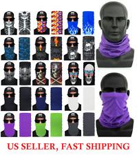 1pc Face Mask Sun Shield Neck Gaiter Bike Balaclava Neckerchief Bandana Headband