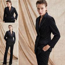 Women Suits Pants Blazer Jacket Formal Business Work Party Prom Wedding Dresses