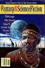 Magazine of Fantasy & Science Fiction-11/88-Resnick, Aldiss, Disch, Bova