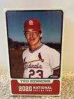 St. Louis Cardinals Ted Simmons Bobblehead SGA  7/31/2021 NIB