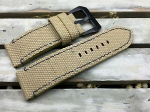 Canvas watch strap for Pam or big watch #VB084