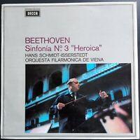 Beethoven - Symphony No. 3, SCHMIDT-ISSERSTEDT, VPO, Decca SXL 6232 STEREO