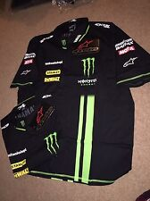 Alpinestars TECH 3 MONSTER ENERGY TEAM ISSUE Crew Camicia. XL. NUOVO