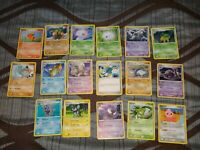 POKEMON CARD LOT OF 17 GREAT CONDITION 2007/2006 NICE