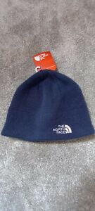 The North Face navy blue beanie hat brand new