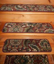 "14 = STEP 9"" X 30"" + LANDING 30'' X 30'' Stair Treads Staircase WOVEN CARPET."