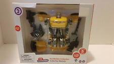 Kid Connection Mutator Collection 1:32 Scale Transforming Car Robot Yellow New
