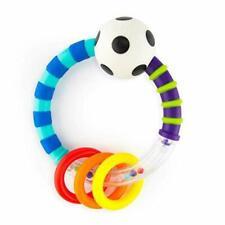 Sassy Rattlin Rings Blue/black Infant Toy 80017