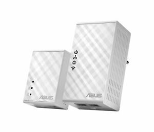 ASUS PL-N12 Kit 500 Mbps Built-in Ethernet connection WLAN White 2 pieces