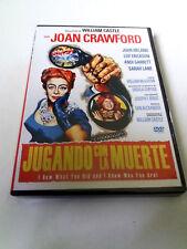 "DVD ""JUGANDO CON LA MUERTE"" WILLIAM CASTLE JOAN CRAWFORD JOHN IRELAND"