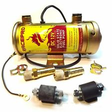 RacePro 476087 FUEL PUMP electric 12V Cylindrical Universal Facet replacement
